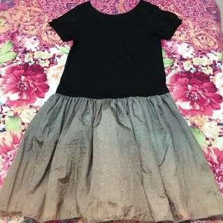 Black and Bronze Skirt
