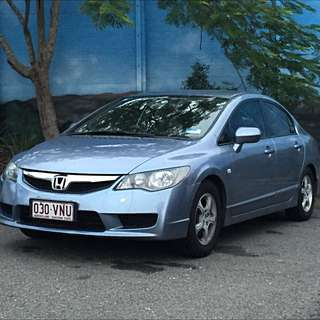 2009 Honda Civic Vti Sedan 5sp Auto 1.8i