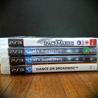 PS3 Games (All Unplayed)