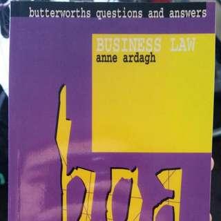 Business Law Q&A