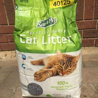 20L of Cat Litter Unopened