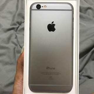 保留中)iphone 6 64g 太空灰 4.7吋 可議