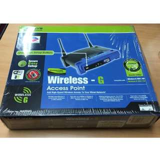 Linksys WAP 54G Wireless Access Point
