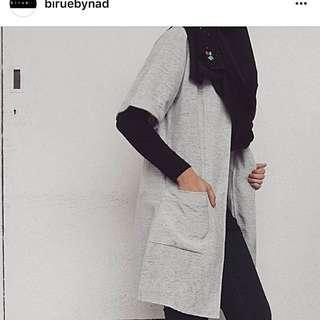 Preloved Birue By Nad Short Cardi Top