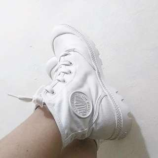 Authentic White Palladium Boots