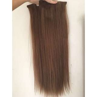Honey Brown Hair Extensions