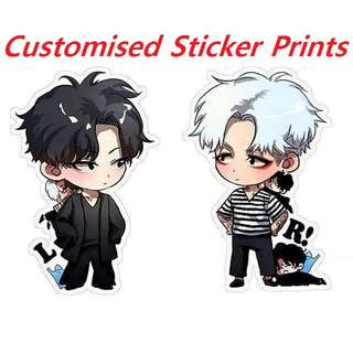 Customised Sticker/label Printing Service