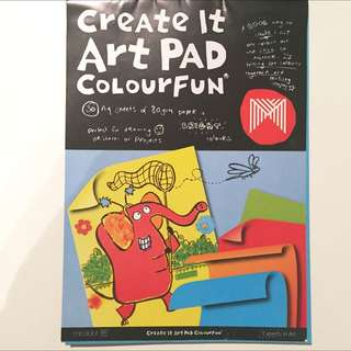 Micador Create It Art Pads (approx 22 Sheets)