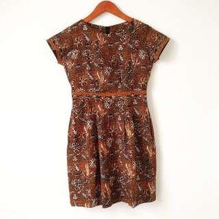 Work Batik Dress