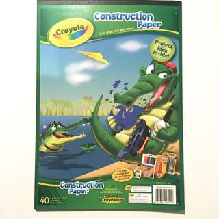 Crayons Paper-construction Paper pad
