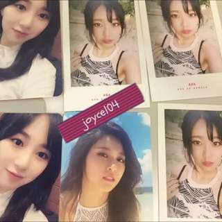 AOA - Good Luck Photocard