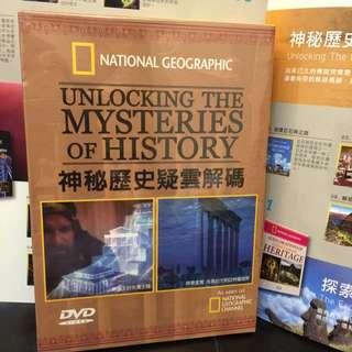 國家地理頻道-DVD 神秘歷史疑雲解碼七片裝