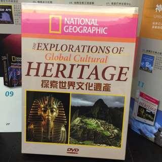 國家地理頻道原版光碟:探索世界文化遺產