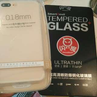 IPhone 7plus Case+貼