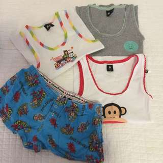 All $10 Paul Frank size S and XS