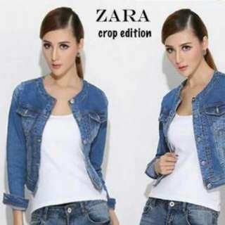 Jaket Zara Blueish