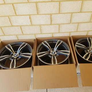 "Standard 19"" inch BMW Alloy Wheels"