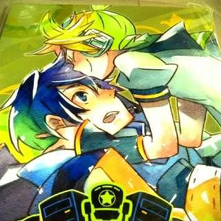 同人誌 Vocaloid Len Kaito 多人合誌 全新 全年齡 日刊