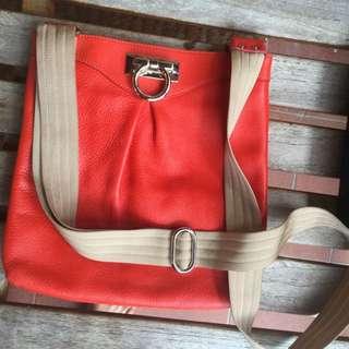 Salvatore Ferragamo Sling Bag Orange
