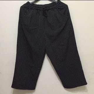 🈹韓版直條寬褲