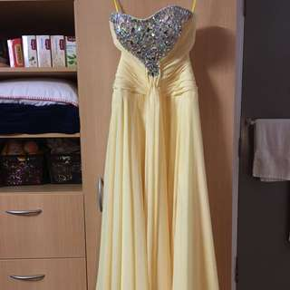 Daffodil Strapless Dress