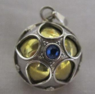 16mm Balinese Silver Harmony Ball