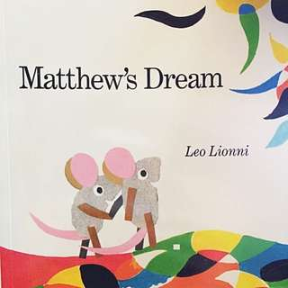 Matthew's Dream - A Picture book by Leo Lionni, Curated by Trinks.sg