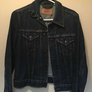 LEVI's Denim Dark Blue Denim Jacket
