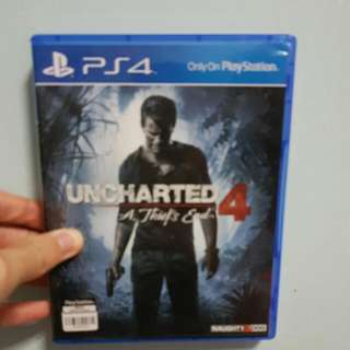 Used Ps4 Uncharted 4
