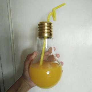 drinking glass bulb