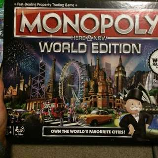 Monopoly World Edition