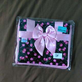 authentic Nantita Handbag 曼谷包 black pink cherry design (great emergency gift)
