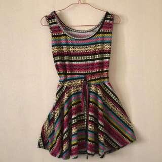 Aztec Cotton Dress