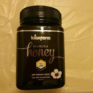 Kiwifarm Munuka Honey 15+UMF 500g