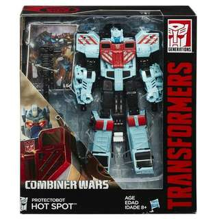 *RESERVED* Transformers Combiner Wars Hot Spot for Defensor