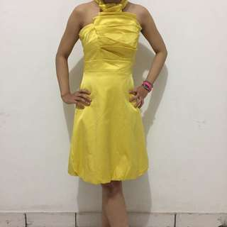 Karren Millen Yellow Dress