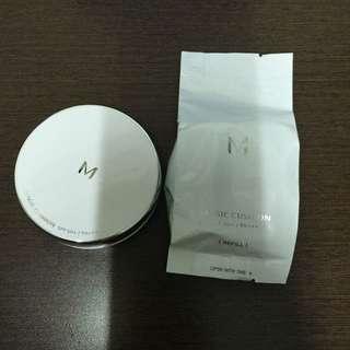 (含運)Missha 銀盒控油款氣墊粉餅23自然色 含蕊