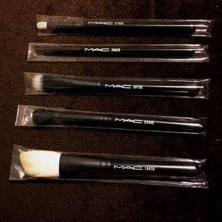Set of 5 new MAC blending & shading brushes
