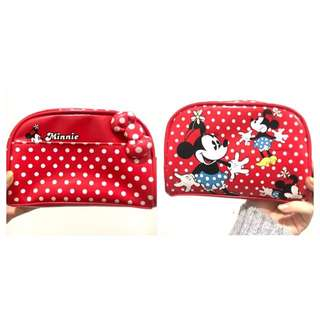 Limited Edition DisneyLand mini Mouse Makeup/stationary Case