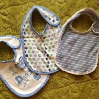 Mothercare Bibs 3pcs