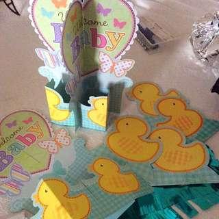 Duck Theme Accessories Baby shower
