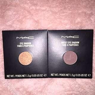 Mac Mulch Eyeshadow & Mac Handwritten Eyeshadow
