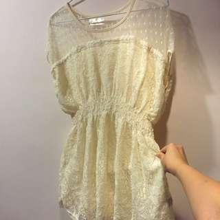 YOCO 🎀蕾絲洋裝