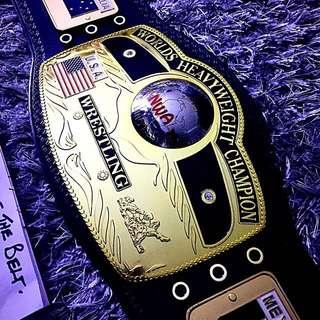 NWA Domed Globe Championship Belt Adult Replica