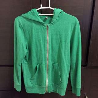 Zara 青草綠外套