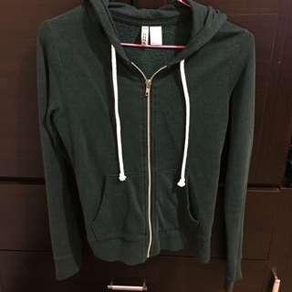 H&M 深墨綠色外套