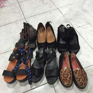 女鞋 24.5(左上 右下已售)