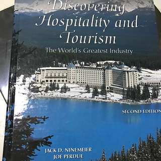 Discovering Hospitality And Tourism