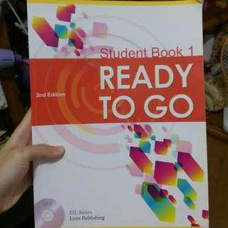 【二手書】READY TO GO (Student Book 1) 2nd Edition