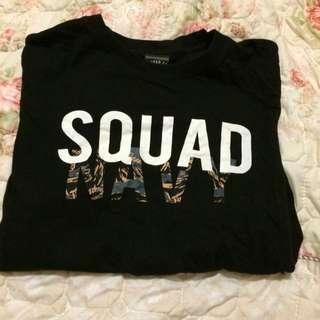 Squad 短t